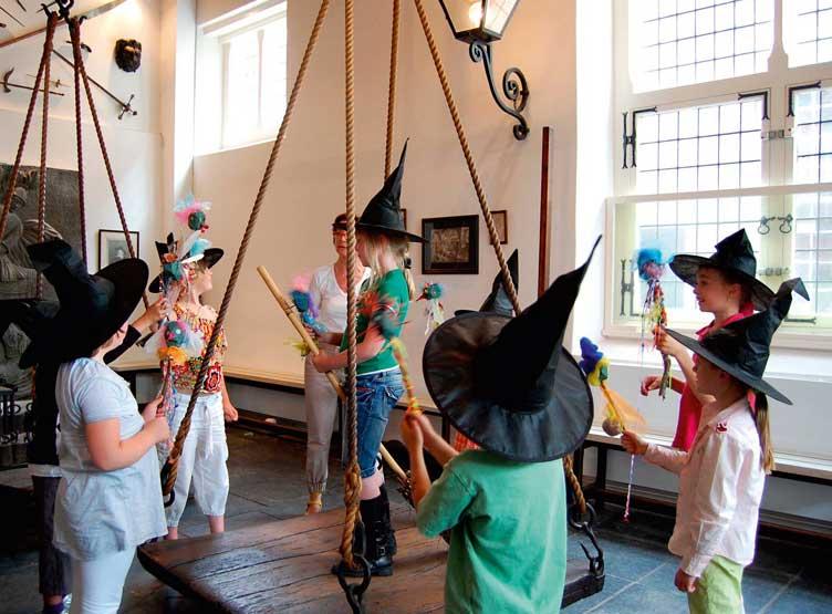 kinderfeestje utrecht wegen heksenwaag certificaat groepen oudewater